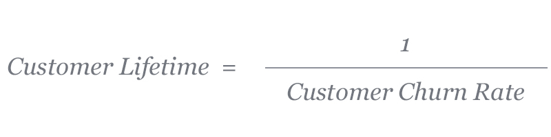 Customer lifetime