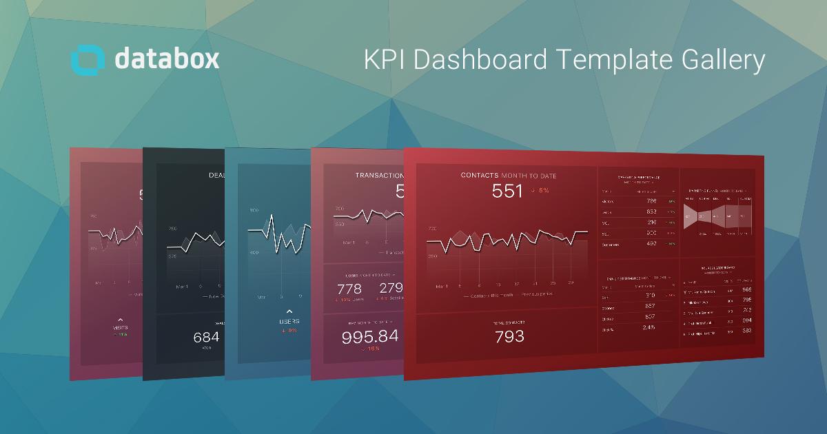 Templates Gallery | Databox