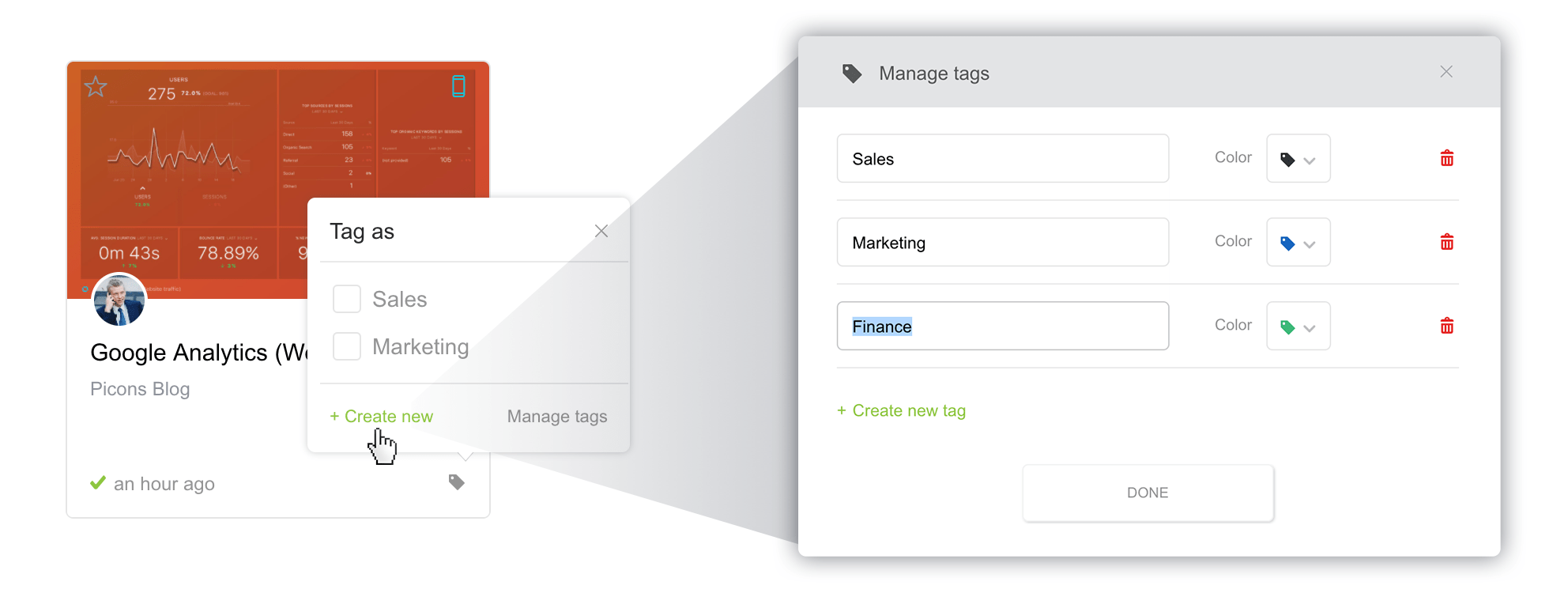 How To Organize Your Databoards With Tags And Favorites