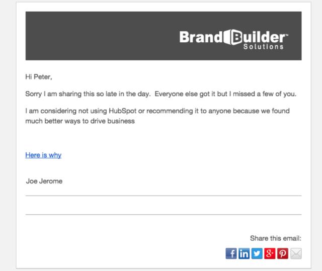 Joe Jerome CEO BrandBuilder Solutions