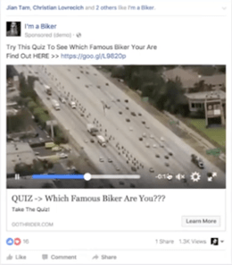 goth rider bike video