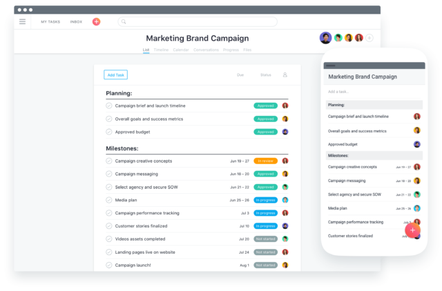 asana for marketers