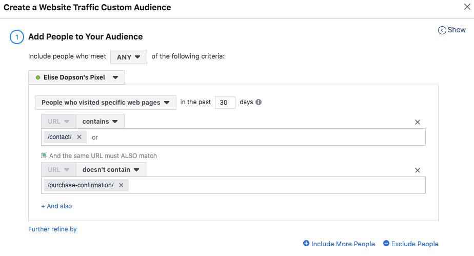custom audiences for facebook retargeting