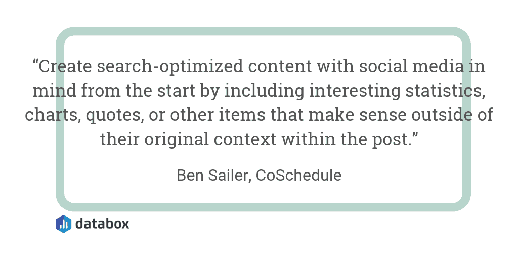 Make Sure SEO Content is Optimized for Sharing