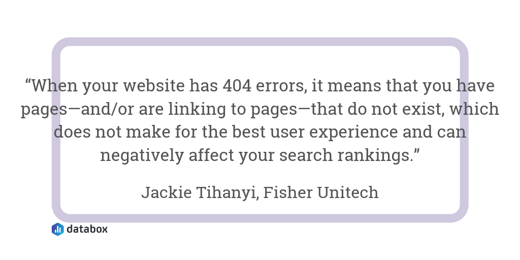 Do You Have Any 404 Errors That Should Be Redirected?