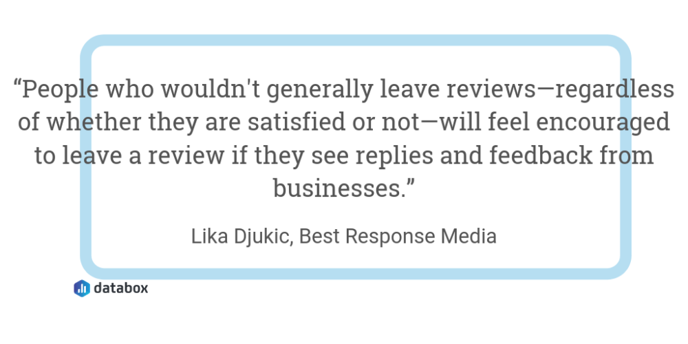 Engage With Your Existing Reviews