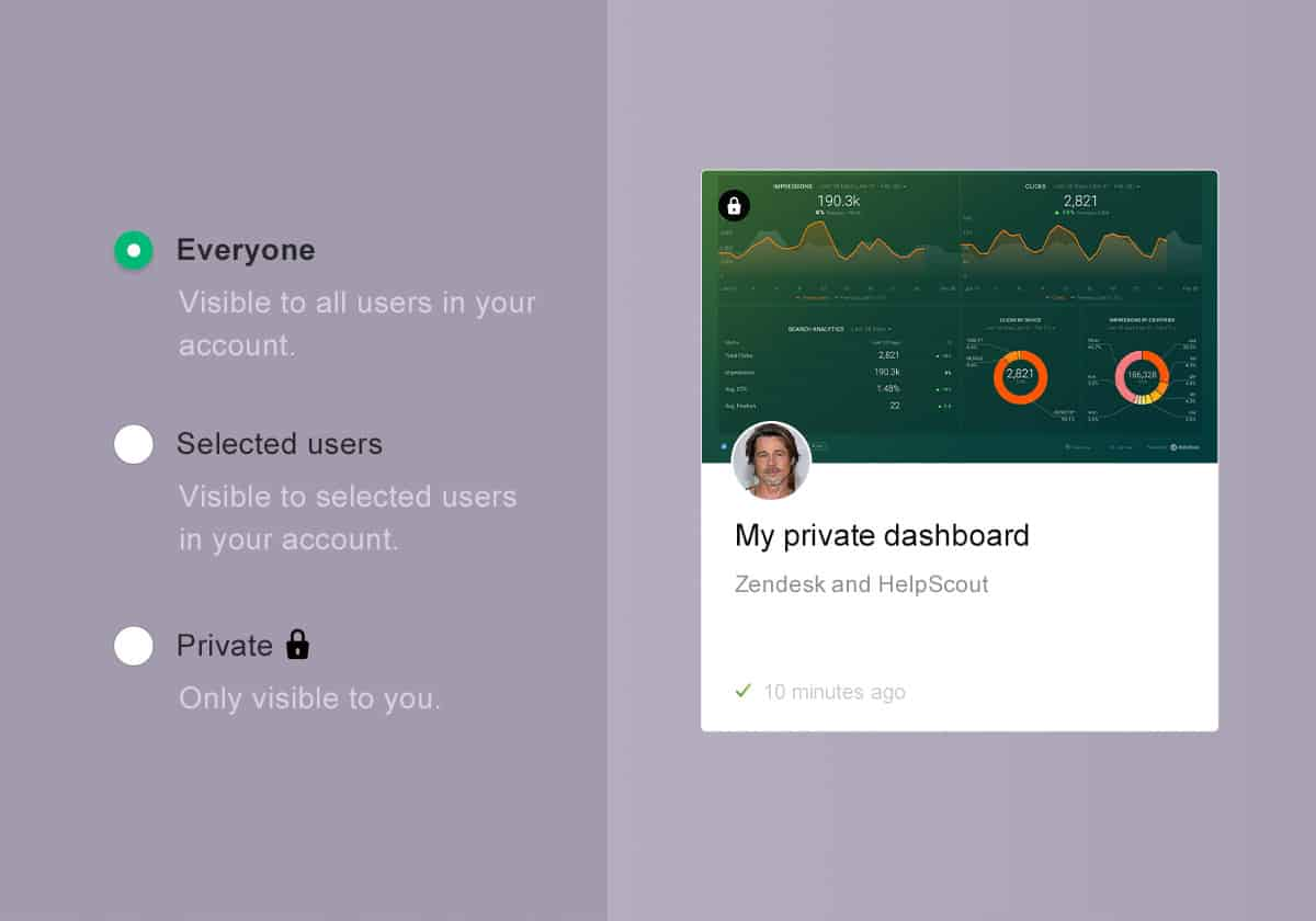 We've improved sharing + privacy options for your Databoards