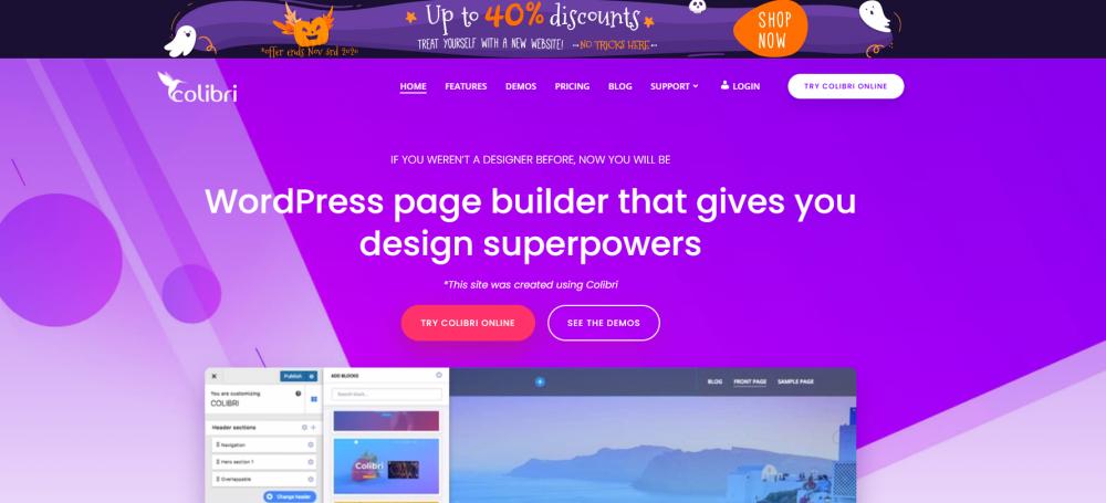 colibri homepage