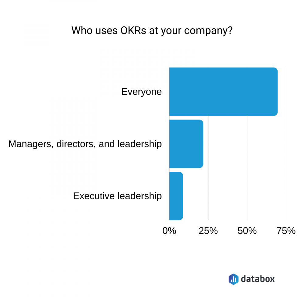 who uses OKRs at their company?