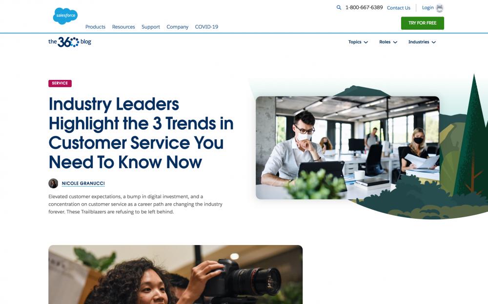 Salesforce B2B blog