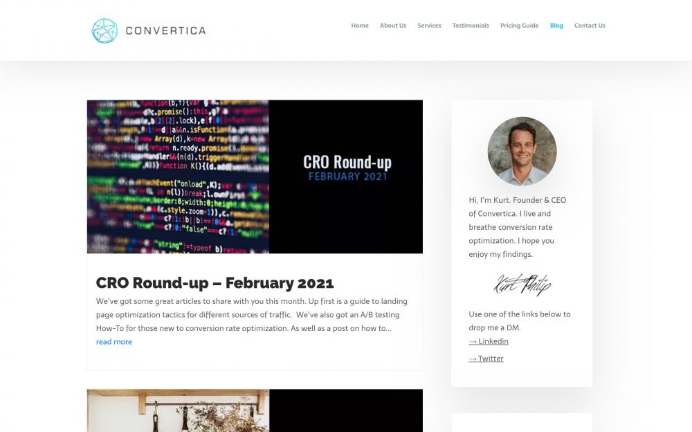 Convertica blog