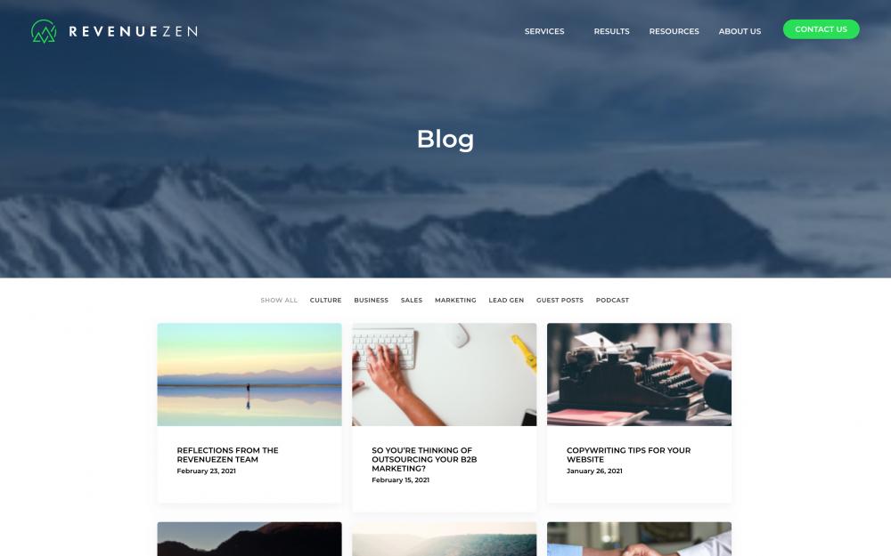 RevenueZen's blog