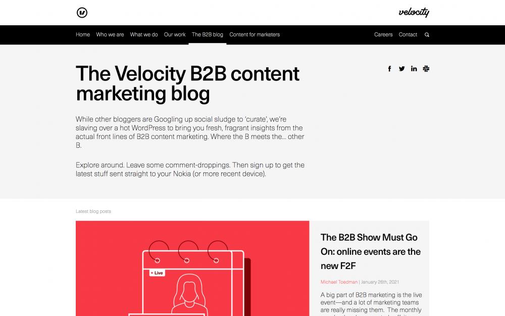 Velocity Partners blog