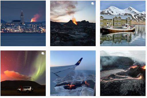 icelandair instagram feed